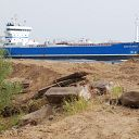 ship, soil, construction site