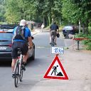 bicycle, Falkensteiner Ufer, traffic sign